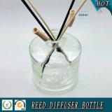 runde Glasreedflasche des diffuser- (Zerstäuber)250ml für Duft-Öl