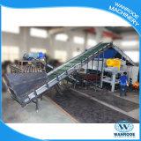 Gomma di automobile di Tdf che ricicla la linea di produzione della trinciatrice