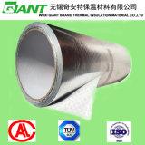Сплетенный алюминиевой фольгой теплоизолирующий материал толя ткани