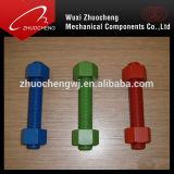 Hochleistungsgewinde Rod des legierter Stahl-TeflonPTFE A193 B7