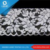 Robes de mariage de lacet de cru de Lemo Surat, matériau de Saree de lacet