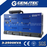 Gerador industrial diesel diesel Cummins à prova de som 500kVA (GPC500S)