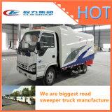 La balayeuse rapide de Streeting de route exportée par 600p d'Isuzu aspirent le type camion