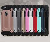 Armadura de venda quente 2 do telefone do móbil/pilha em 1 caso de TPU para o iPhone 7 (XSDD-029)