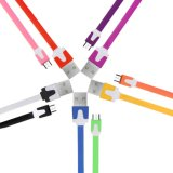 Краткость шнур кабеля Sync 10 данным по USB 2.0 Micro пакета цветастые поручая для Samsung