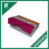 Anéis de espuma do produto comestível que empacotam a caixa de cor de papel com o PE revestido