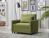 L'unité centrale de tissu de qualité retirent le sofa Cum le bâti comme présidence de pliage