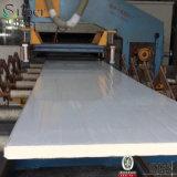 Het Bouwmateriaal van het Comité van de Sandwich van het Polyurethaan van de Oppervlakte Pu van de Vlakte van het staal