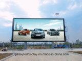 El panel de visualización fijo de LED P8/P10/P16 de la pantalla a todo color al aire libre del alto brillo SMD para la pared video que hace publicidad