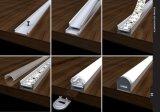 4115, luz de tira de perfil de linha de alumínio LED de 8 mm