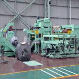 Металлический лист обрабатывал изделие на определенную длину линия машины