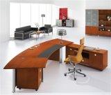 Tabela do escritório executivo da noz vermelha clássica do projeto/mesa lustrosas (NS-D016)
