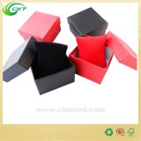 Cadre de papier de carton carré, cadre de empaquetage de montre en cuir (CKT-CB-761)