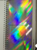 Cartón holográfico del arco iris