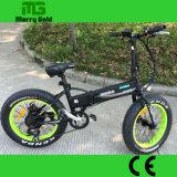 Pneu gordo En elétrico Foldable escondido 15194 da bicicleta da bateria 250W