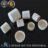 crogiolo di ceramica a temperatura elevata dell'allumina Al2O3 del laboratorio 1800c