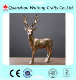Estátua Home personalizada dos cervos da resina da decoração para a venda