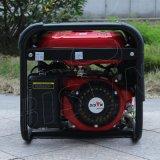 Gerador da energia eléctrica da gasolina do agregado familiar da fase monofásica da C.A. do fio de cobre de preço de fábrica BS2500L do bisonte (China) 2kw 2kv