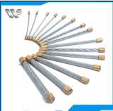 La technique galvanisée galvanisée par électro et a galvanisé la corde galvanisée de fil d'acier de traitement extérieur