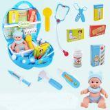 Kind-Schauspielhaus-Plastikspielzeug für reizenden Doktor