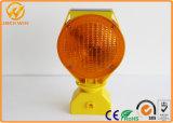 Luz de advertência psta solar do diodo emissor de luz da barricada para a segurança de estrada