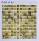 Mattonelle di pavimento di vetro del mosaico 23*23mm