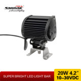 "4.2 de "" barra clara Offroad do diodo emissor de luz do CREE 20W IP67"
