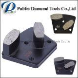 구체적인 지면을%s 육각형 다이아몬드 금속 세그먼트 끝 다이아몬드 돌 지면 가는 세그먼트