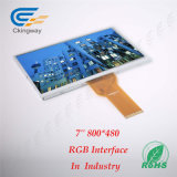 """7 """" 24 módulos de la visualización de pantalla del RGB LCD 420 de los dígitos binarios CD/M2"""