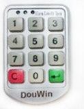 Замок локера сплава цинка пароля кнопочной панели