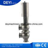 Санитарный гигиенический запорный клапан Ss316L Pneumaitc