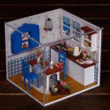 Het onderwijs van het het meubilairDIY 3D Raadsel van het Stuk speelgoed Houten Stuk speelgoed
