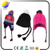 昇進のギフトのための美しいおよび方法冬の帽子およびCottony帽子および子供の帽子およびウールによって編まれる帽子およびCasquette
