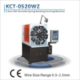 5 &Spring Rotationg를 가진 기계를 형성하는 축선 2.0mm CNC 다재다능한 봄 Seales 유리제 깡통을%s 기계를 만들기