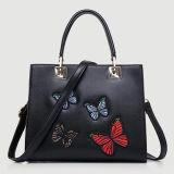 Saco de ombro de bolsa de moda de senhoras de estilo novo com emblema de borboleta de bordado Sy8063