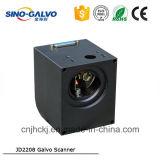 Galvanómetro de alta velocidad chino popular de la exploración de la máquina Jd2208 de la marca de la precisión del laser de Indsutry