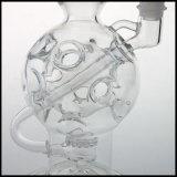 In het groot van Faberge van het Ei van Pyrex Duim Pijpen van het Glas van de Rokende met de Versterkte Gridded Gealigneerde Pijp van het Onkruid van de Waterpijp Perc