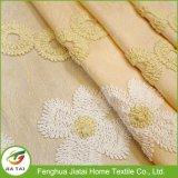 Cubiertas de ventana baratas de la alta calidad amarilla larga de las cortinas