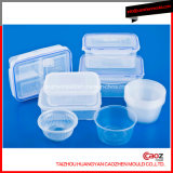 Plastiknahrungsmittelbehälter mit Kappen-/Ablagekasten-Form