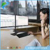Canalización vertical/montaje del monitor de la abrazadera del escritorio de Jeo Ys-D29s para el monitor de la PC