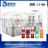 Gekohlte Sodawasser-Flaschenabfüllmaschine beenden