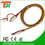 Mfi 공장 좋은 품질 3in1 USB 케이블
