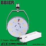 Lámpara mencionada de la modificación del vatio LED del alumbrado público 120 de ETL Dlc con 5 años de garantía