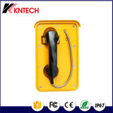 Koontechの自動ダイヤル非常電話の耐候性がある頑丈な電話Knsp-10