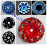 """4 """" колеса чашки двойных диаманта рядка меля для бетона и камней"""