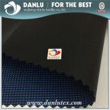 600d imprägniern Garn gefärbtes Polyester-Schwarz-Vc beschichtetes Oxford-Gewebe für Beutel-Gebrauch
