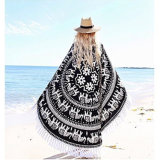 China Supplier Hot Selling Custom Mandala Round Beach Towel