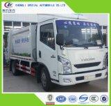 China Nieuwe Yuejin 4cbm de Vuilnisauto van de Pers van het Huisvuil
