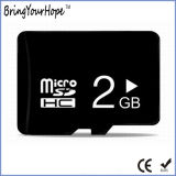Tarjeta micro de alta velocidad llena verdadera de Capaciy 2GB C10 SD (TF 2GB)