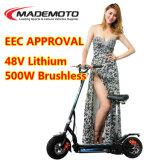 2107 de nieuwe Elektrische Autoped van 2 Wiel van de Batterij van het Lithium Volwassen